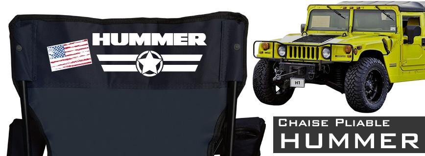 Hummer - Chaise Pliable Personnalisée