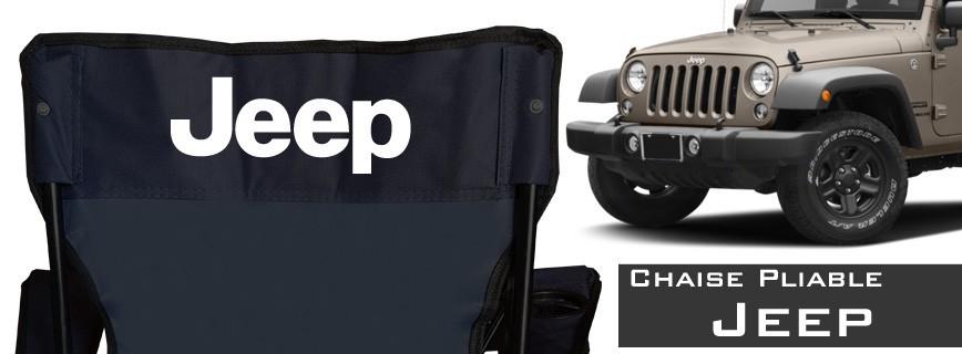 Jeep - Chaise Pliable Personnalisée
