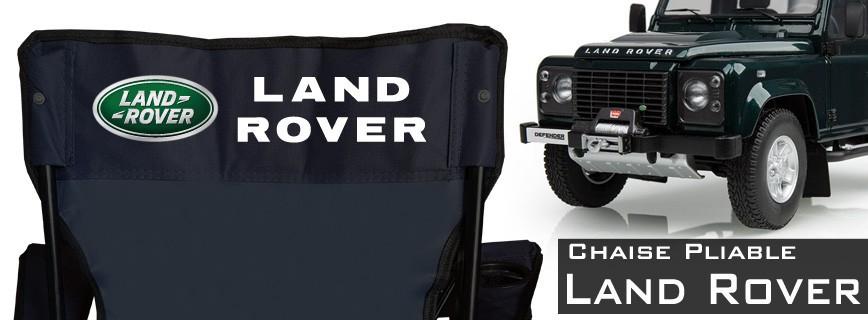 Land Rover - Chaise Pliable Personnalisée