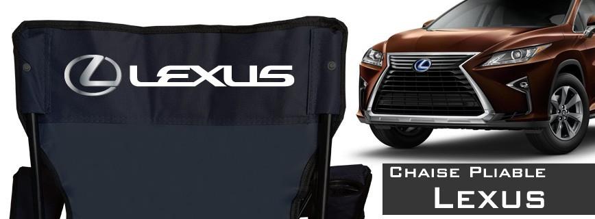 Lexus - Chaise Pliable Personnalisée