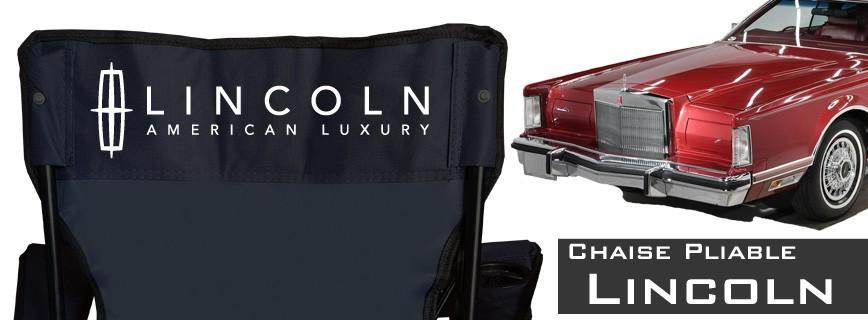 Lincoln - Chaise Pliable Personnalisée