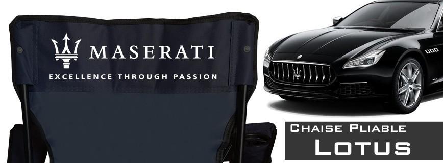 Maserati - Chaise Pliable Personnalisée