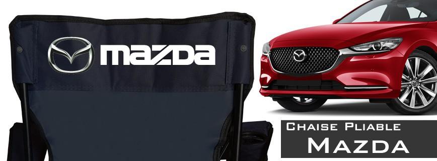 Mazda - Chaise Pliable Personnalisée