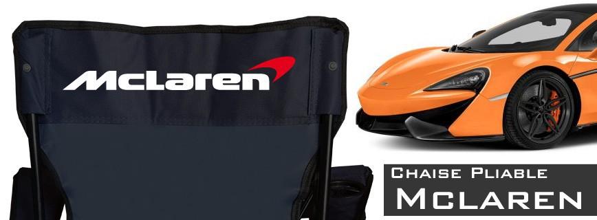 McLaren - Chaise Pliable Personnalisée
