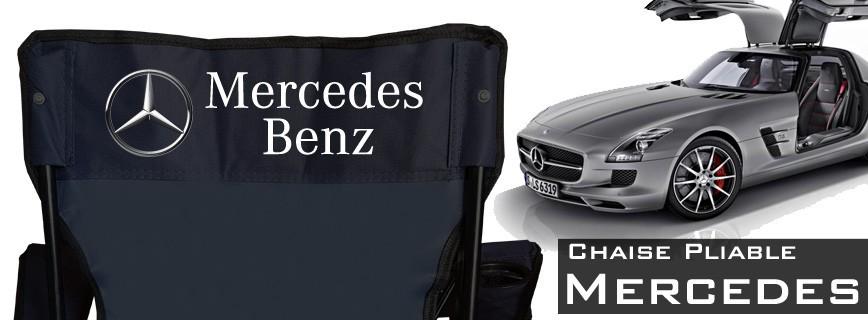 Mercedes-Benz - Chaise Pliable Personnalisée