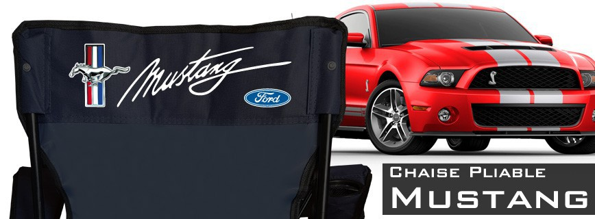 Mustang - Chaise Pliable Personnalisée