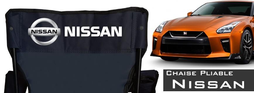 Nissan - Chaise Pliable Personnalisée