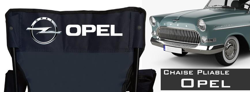 Opel - Chaise Pliable Personnalisée