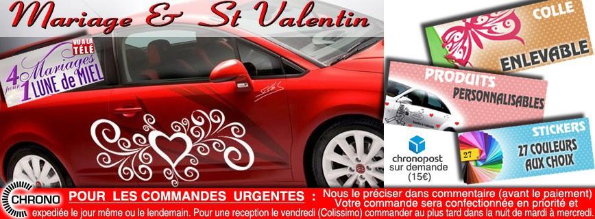 stickers Mariage & St Valentin