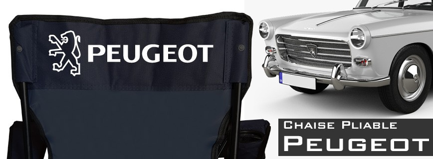 Peugeot - Chaise Pliable Personnalisée