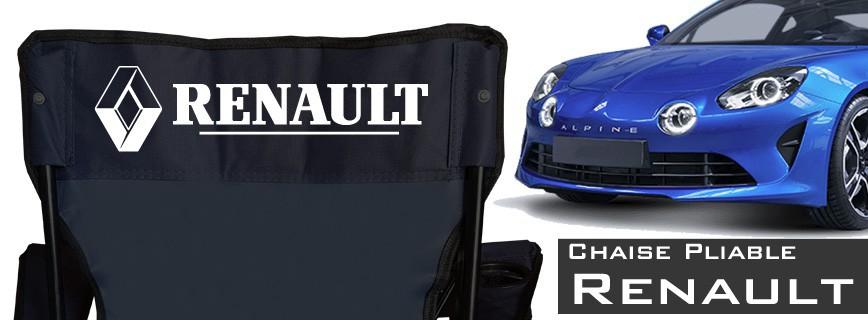 Renault - Chaise Pliable Personnalisée