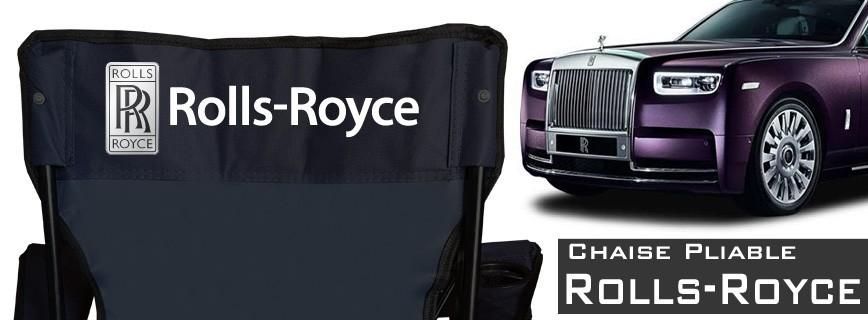 Roll Royce - Chaise Pliable Personnalisée