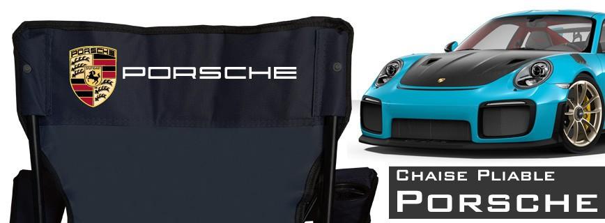Porsche - Chaise Pliable Personnalisée