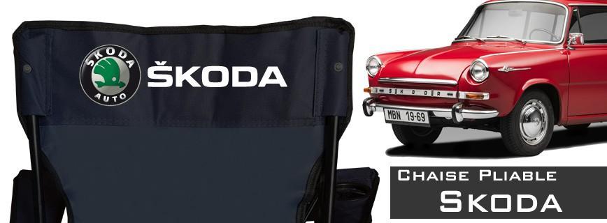 Skoda - Chaise Pliable Personnalisée