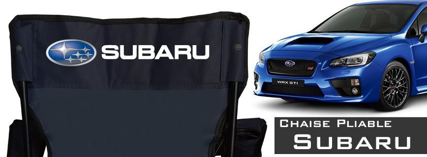 Subaru - Chaise Pliable Personnalisée