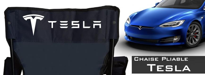 Tesla - Chaise Pliable Personnalisée