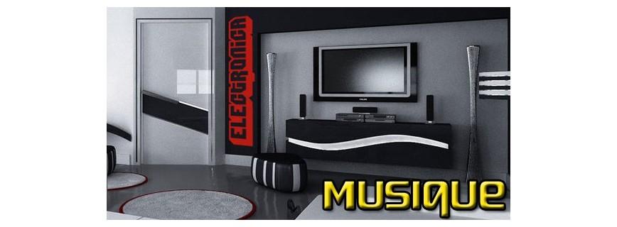 stickers Musique