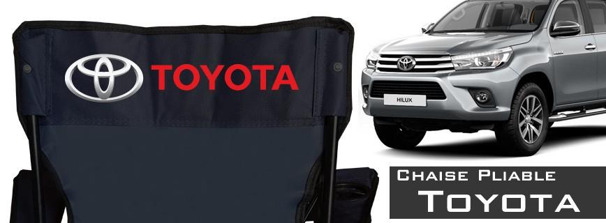 Toyota - Chaise Pliable Personnalisée