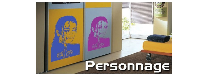 stickers Personnage