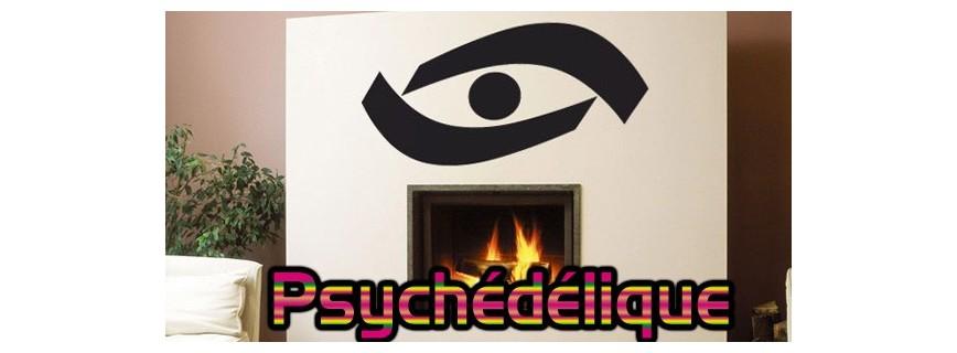 stickers Psychédélique