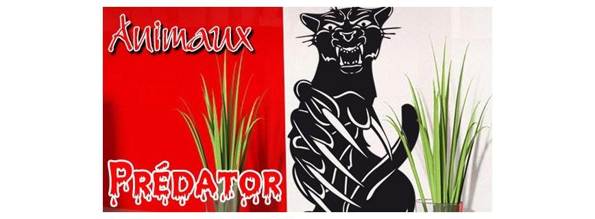 stickers Animaux Prédator