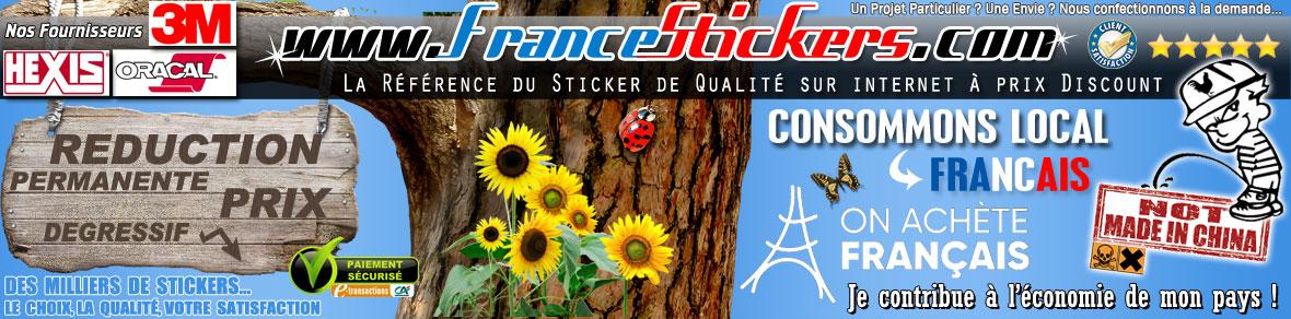 STICKERS Prix Discount Pas Chers